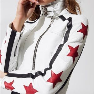 Free People Star Power Leather Jacket